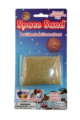 Yellow Space Sand: 2oz of Hydrophobic Sand