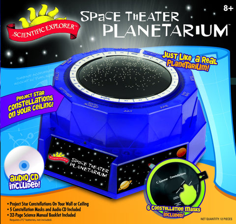 Scientific Explorer's Space Theater Planetarium - Star Constellation Light Up Projector by Poof-Slinky
