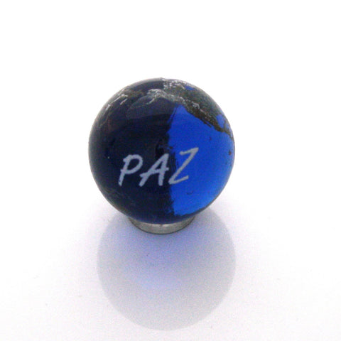World Peace Earth Marble - Spanish - 22mm