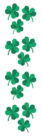 Mrs Grossman's Stickers - Sparkle Shamrocks