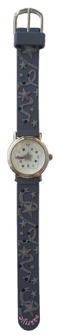 Naartjie Sparkly Star Cottontail Watch Grey Band