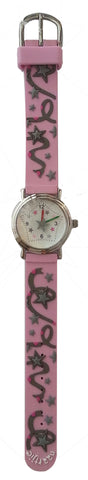 Naartjie Sparkly Star Watch Pink Band
