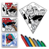 X Kites Spider-Man Color-Me-Kite 26 Inches Tall