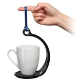 Spill Not - Swinging No Spill Mug Holder with Guide
