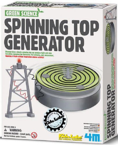Green Science, Spinning Top Generator  4M Kit Kidz Labs