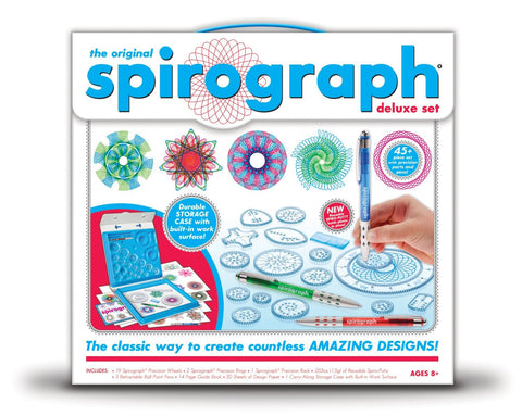 The Original Spirograph Deluxe Set - Includes Pens and Paper
