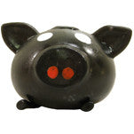Splat Ball Novelty Squishy Toy Black Pig