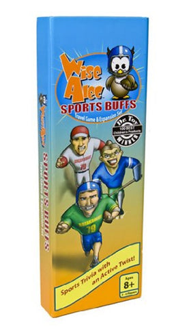 Wise Alec: Sports Buffs Travel Game & Expansion Set by Griddly Games