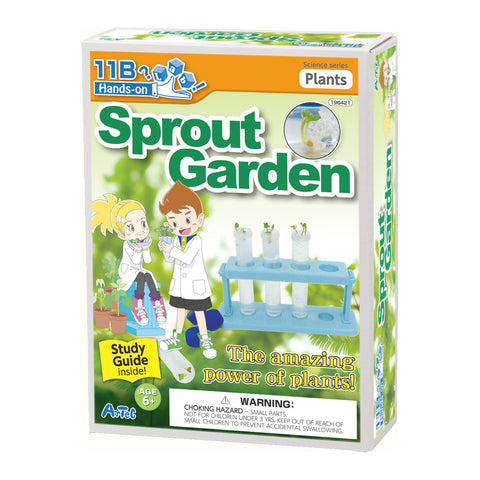 Sprout Garden Experiment Kit and Study Guide By Artec