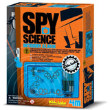 Spy Science Intruder Alarm Build Circuit by 4M