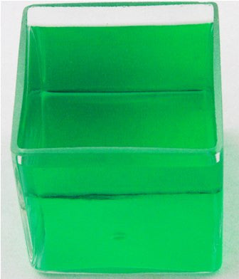 0.85L Square Battery Jar, Heavy Walled Clear Glass - Online Science Mall