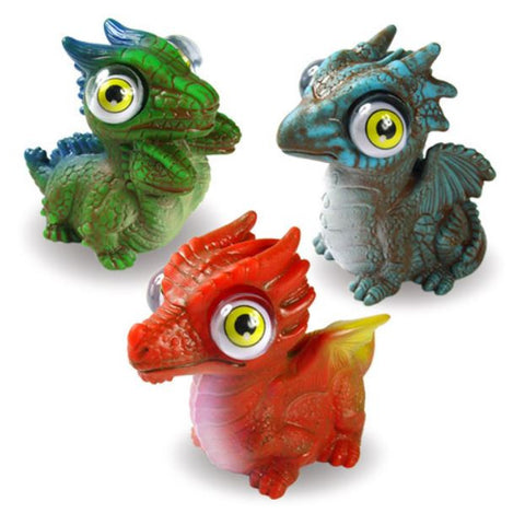 Squeeze N' Pop Dragons Set of 3 Different Designs