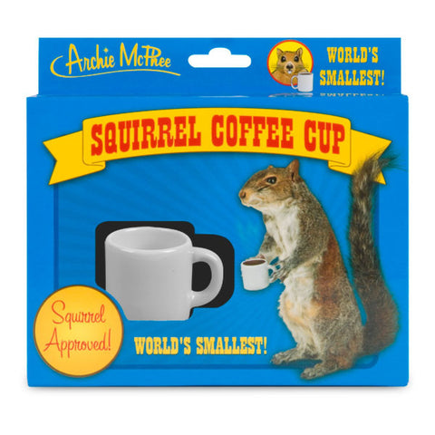 World's Smallest Coffee Cup - Squirrel Approved
