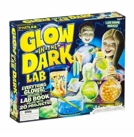 GLOW-IN-THE-DARK Lab Kit by SmartLab - Perform Experiments in the Dark