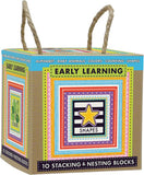 10 Stacking - Nesting Early Learning Blocks by Green Start - Online Science Mall