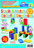 Stack & Match Colorful Dominoes Ages 4+ Playbook By Artec