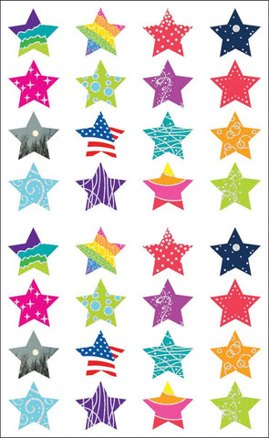 Mrs. Grossman's Stickers Star Struck Giant Roll