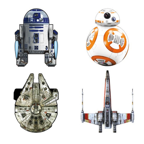 "6.5"" Star Wars Micro Kites, Set of 4 - by X-Kites"