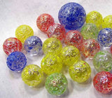 Stardust Game Net Set 25 Piece Glass Mega Marbles