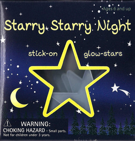 Starry Starry Night - Stick On Glow Stars Wall Decals