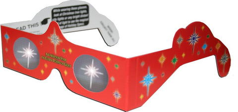 Star Holiday Specs Holographic Glasses Quantity Discounts
