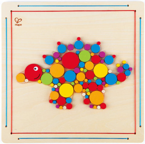 Hape Craft Kit - Stegosaurus Mosaic - 95 pc