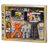 Stikbot Animation Toy Studio w/ 2 Stikbots & Tripod