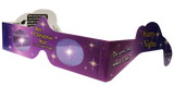 Christmas Star 3D Holiday Specs Holographic Glasses (Quantity Discount)