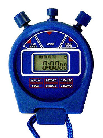 10 Digital Stopwatches Stop Watch 1/100th Second Alarm Date - Online Science Mall