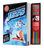 Straw Shooter Jets - Make Your Own Mini Paper Air Force Kit by Klutz