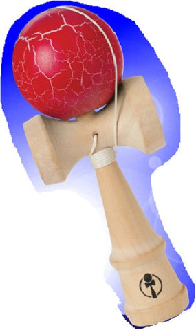 Street Style KENDAMA Wooden Ball Catch Game - Crackled Colors Vary