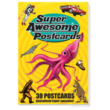 Super Awesome Postcards - Book of 30 Tear-out Postcards