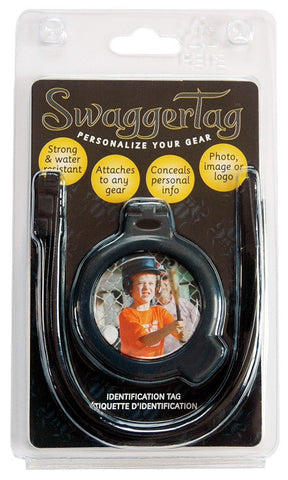 SwaggerTag Spider Grey-Personalize Your Gear Identification Tags