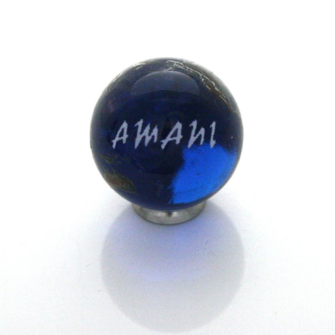 World Peace Earth Marble - Swahili - 22mm