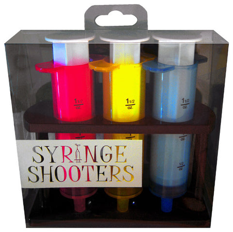 Syringe Shooters - Set of 3 Syringe Shaped Shot Glasses