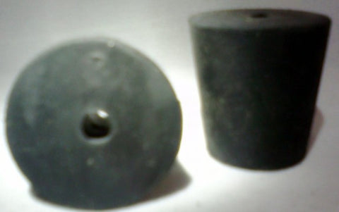 Rubber Stopper: One-Hole: Size 3