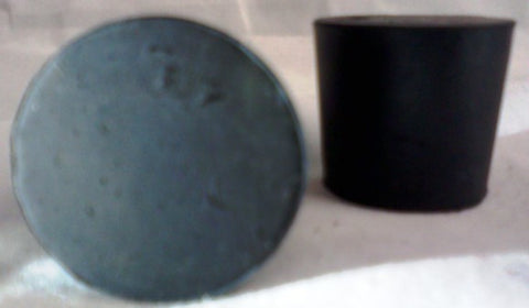 Rubber Stoppers: Solid: Per Pound: Size 5.5 (~21 Per LB.)