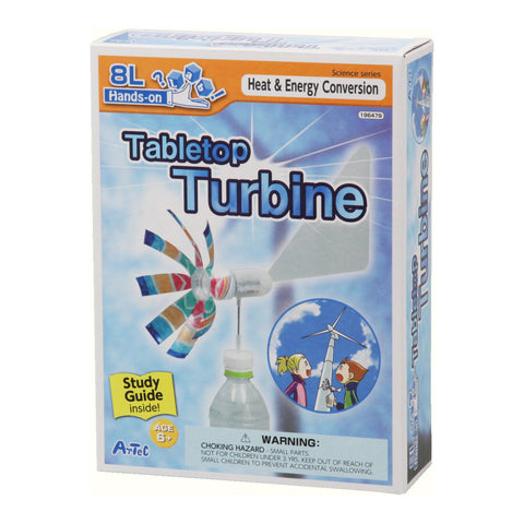 Tabletop Turbine Kit and Study Guide By Artec