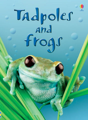 TADPOLES & FROGS - Usborne Beginners Reader Ages 6+