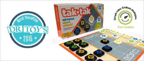 Tak-Tak Board Game of Strategy by Twizmo