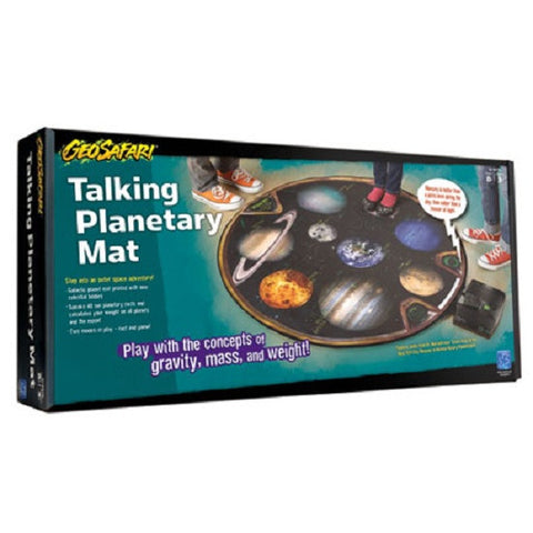 Talking Planetary Mat - Electronic Astronomy Map Education Tool
