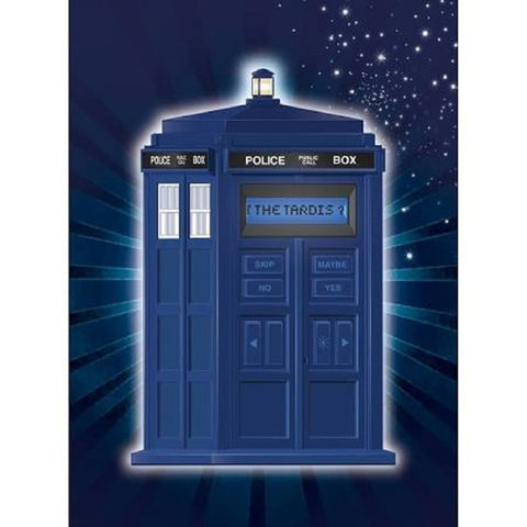 BBC Doctor Who TARDIS 20Q Game by Uncle Milton