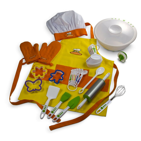 27 Piece Foundation Kitchen Cooking and Prep Set from Curious Chef