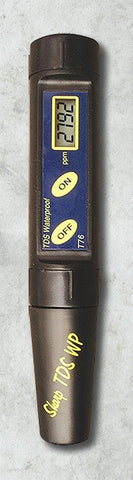 T76 Waterproof TDS Tester 0-9990ppm (mg/L) by Milwaukee