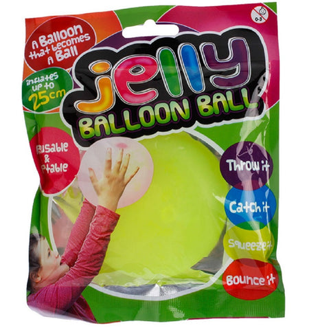 Jelly Balloon Balls Set of 3 by TedCo Toys (Colors Vary)