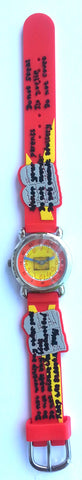The Kids Watch Company Ten Commandments Watch One Size Red Band