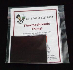 Thermochromic Things - Experiment Activity -  Chemistry Bits Kit