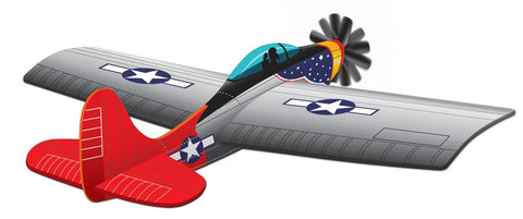 45 Inch Wind 'N Sun Wind Force A-10 Thunderbolt Fighter 3-D Nylon Kite