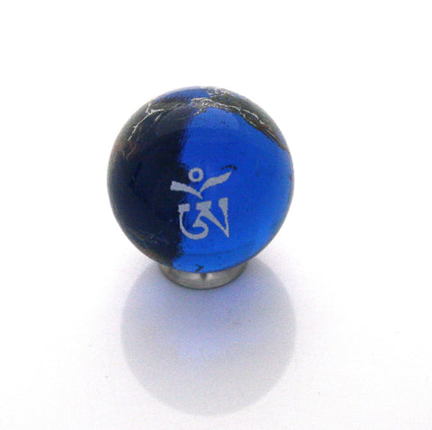 World Peace Earth Marble - Tibetan - 22mm