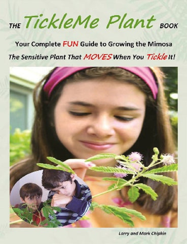 Tickle Me Plant Book Guide For Growing Mimosa Ticklish Plant